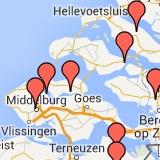 Bib Gourmands in kaart
