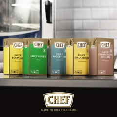 CHEF® introduceert Classic Sauces!