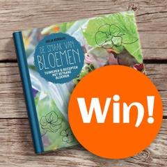 Win het bloemen kookboek vol inspiratie!